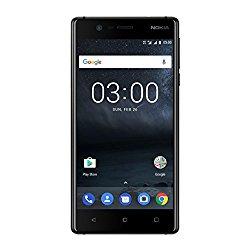 Nokia 3 (Matte Black, 16 GB, 2 GB RAM, Dual Sim) @ Rs.8799