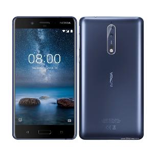 Nokia 8 (Black/Steel 64 GB, 4 GB RAM, Dual Sim)