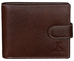 K London Brown Men's Wallet @ Rs.599