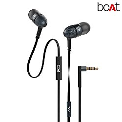 boAt BassHeads 225 In-Ear Super Extra Bass Headphones (Black) @ Rs.518