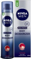 Nivea Men Fresh Protect Deodorizer Intense Body Spray - For Men (120 ml)