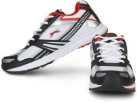 Slazenger Frost Running Shoes (White, Red, Black)