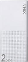 Intex IT-PB 20K Poly 20000 mAh Power Bank (White, Lithium Polymer)