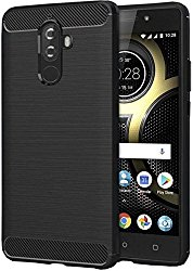 Zynk Case TPU Back Case For Lenovo K8 Note- Midnight Black