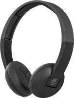 Skullcandy Uproar S5URHW-509 Wireless Headset with Mic (Grey Black, On the Ear)