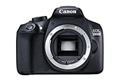 Canon EOS 1300D 18MP Digital SLR Camera Body (Black)