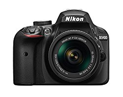 Nikon D3400 24.2 MP Digital SLR Camera (Black) + AF-P DX Nikkor 18-55mm f/3.5-5.6G VR Lens Kit