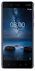 Nokia 8 (Polished Blue, 64GB, 4GB RAM)